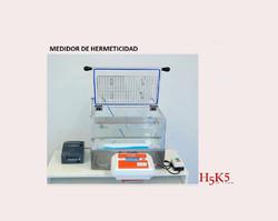 Medidor de Hermeticidad