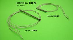 Resistencias 120V