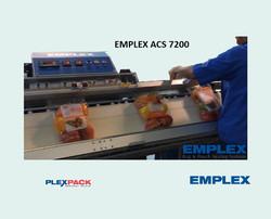 EMPLEX ACS 7200 (L belt conveyor)