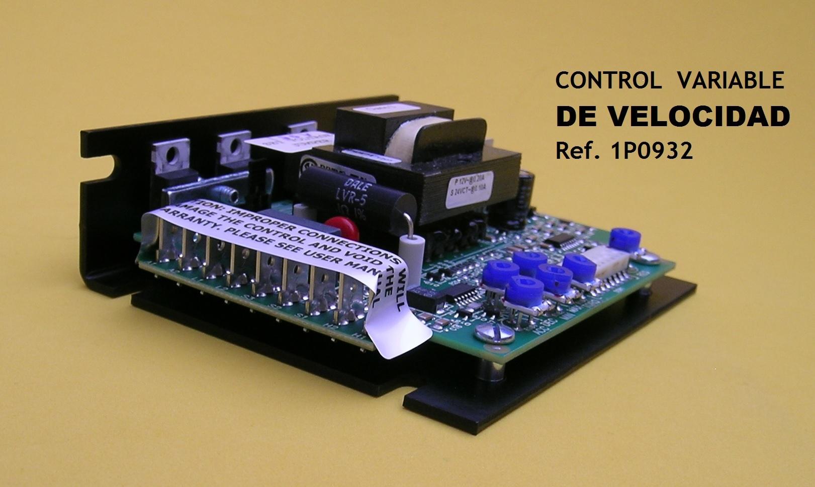 Control Velocidad 1P0932