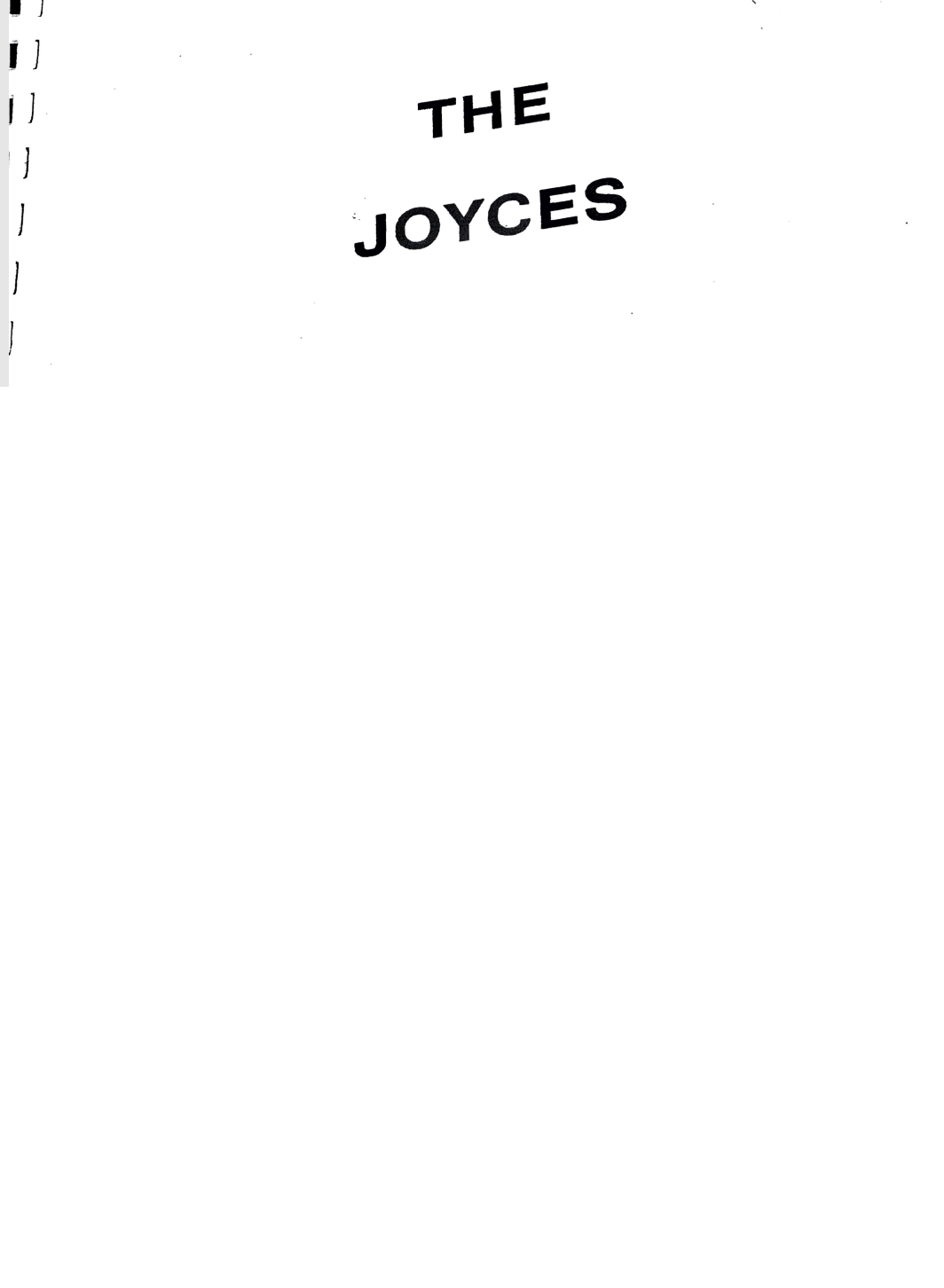 The Joyces