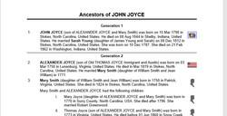 John Joyce (1790-1844), Contributed by Joyce Wells Lawrence