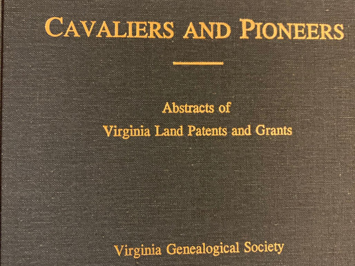 How to Research the Burned Counties of Colonial Virginia