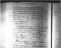 Alexander Joyce (1719-1778) from Alexander Spalding, Lunenburg County, 1748 Deed: Part 4