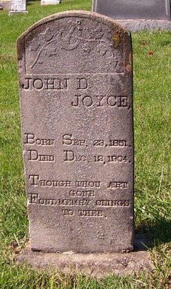 John David Joyce (1851-1904), Contriubted by David Joyce. Source: Find a Grave