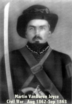 Martin Vanburen Joyce (1835 - 1904), Contributed by Joyce Garrott