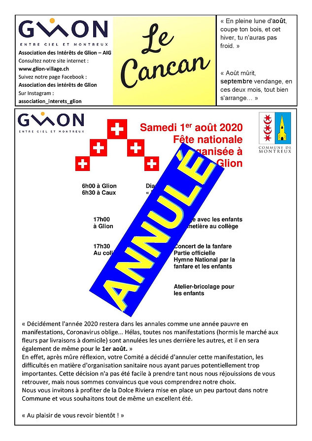 Cancan_Août-septembre_2020_annulation_1