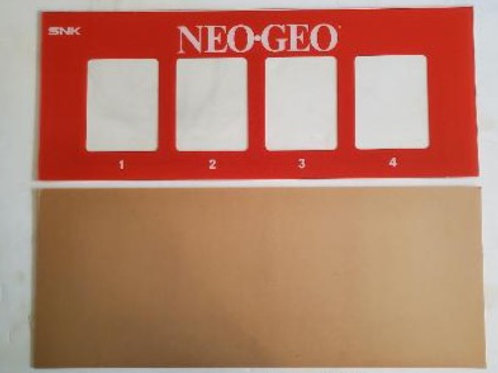 NEO-GEO Video Arcade Marquee