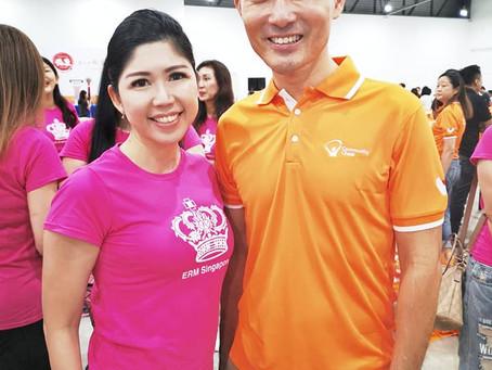 Volunteer for Community Chest Fu Dai
