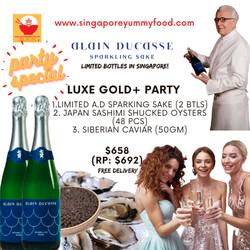 gold plus party