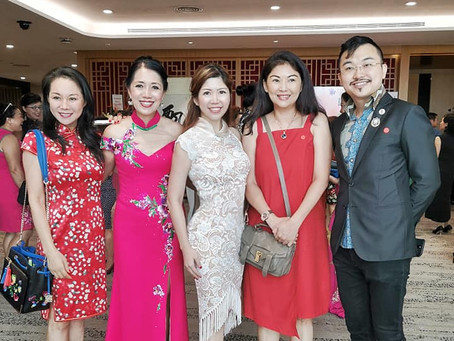 The International Cheongsam Association of Singapore Inaugural Ceremony