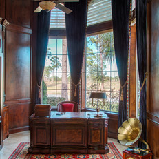 Refined Traditional Home Office
