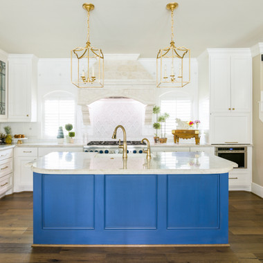 Bold Traditional Kitchen