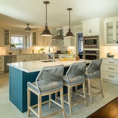 Cool, Casual Kitchen