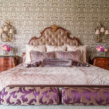 Refined Elegant Master Bedroom