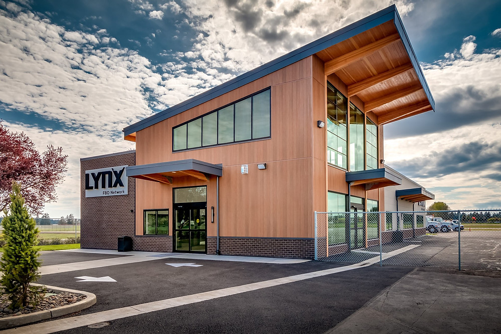 Lynx Commercial Airport Building - Exterior of Building