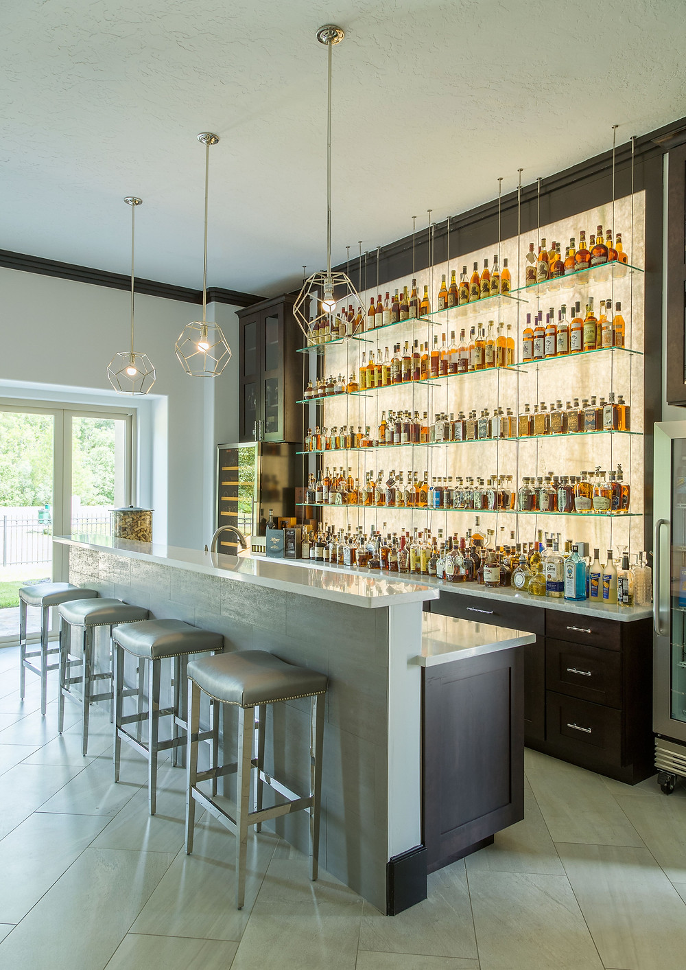 By Design Interiors - Interior Designers in Houston - Home Bar