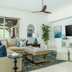 Updated Traditional Family Room