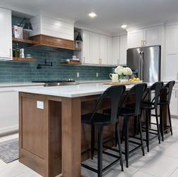Modern Farmhouse kitchen reno