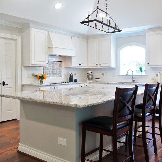 Elegant Transitional Kitchen