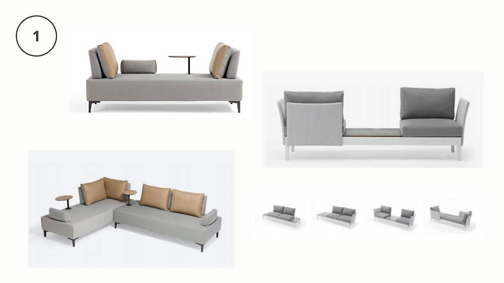 by design interiors, outdoor living furniture, modular sofas, sectionals