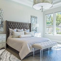 Metallic Master Bedroom