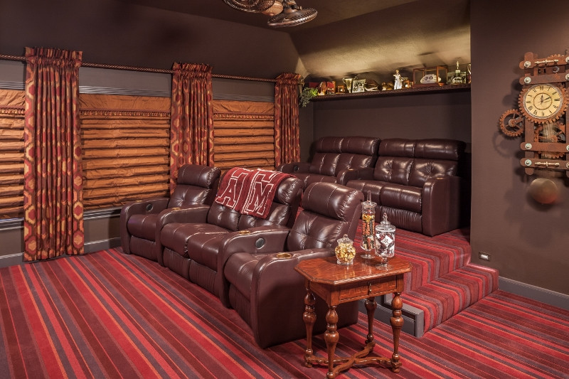 By Design Interiors - Interior Designers in Houston - Media room