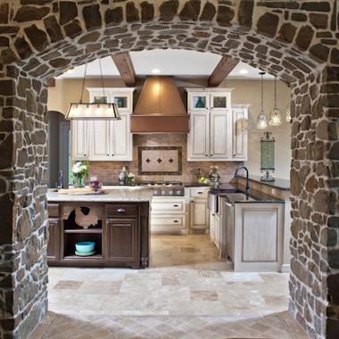 Rustic Elegant Kitchen