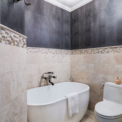 Masculine Guest Bath