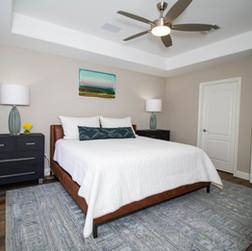 Lakeside Inspired Master Bedroom
