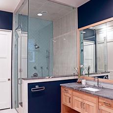 Navy Guest Bath