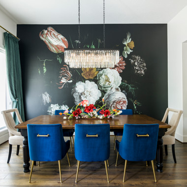 Floral Dining Room