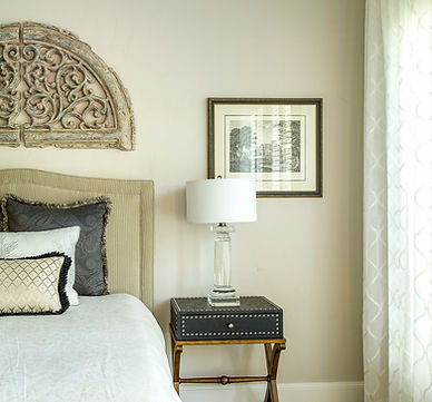 Guest Bedroom in the woodlands, natural colors, boho inspired bedroom, by design interiors, designer near me, interior designer in houston, spring, tomball, austin interior designer, designer in houston, san antonio, design services