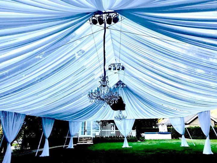 Tent Ceiling Decor