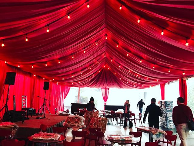 Tent Ceiling Decor