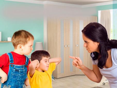 Конфликты с детьми и их решение