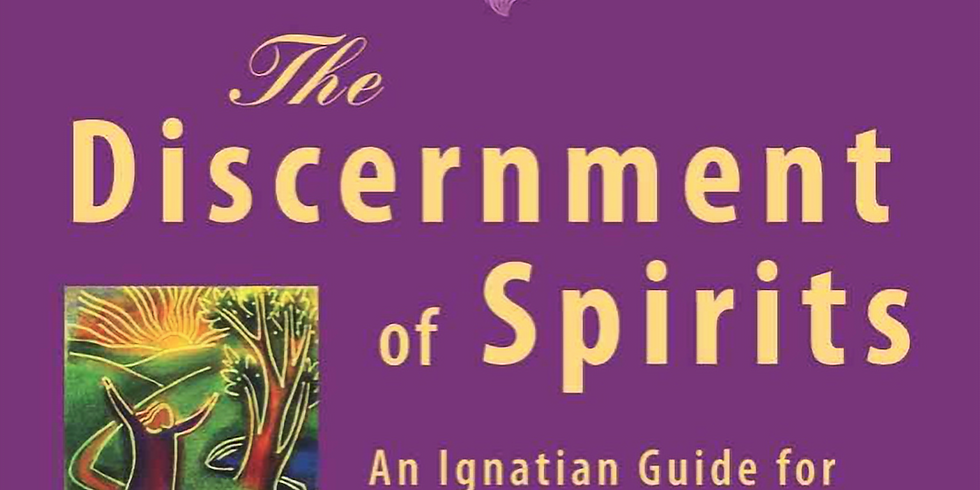 """Faith Sharing Group series """"The Discernment of the Spirits"""""""