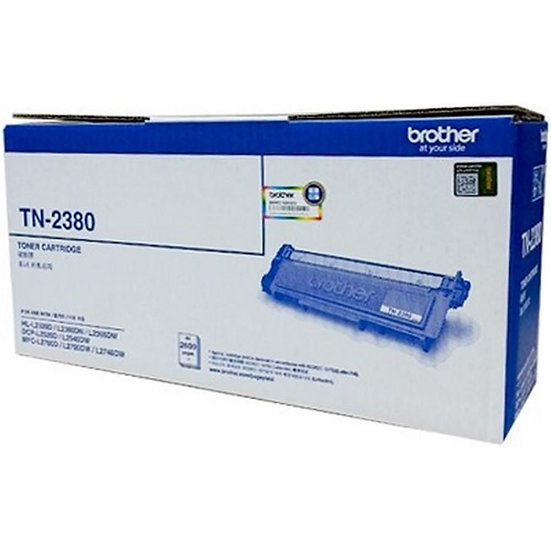 Brother TN-2380 High Yield Toner Cartridge Black (2600 pages)