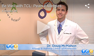 Dr. Doug McMahon from Allergy and Asthma Center of Minnesota discusses peanut allergies on twin cities live