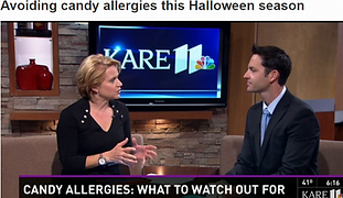 Dr. Doug McMahon from Allergy & Asthma Center of Minnesota discusses Halloween and Food Allergies on KARE 11