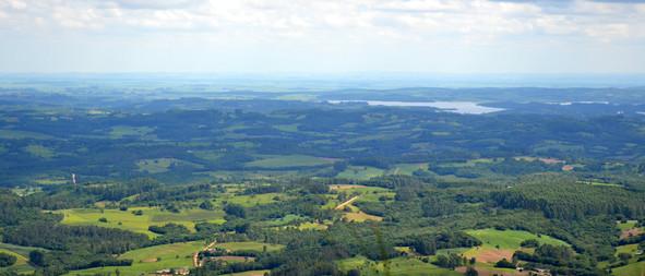 Região de Camaqua a partir do Cerro Torre