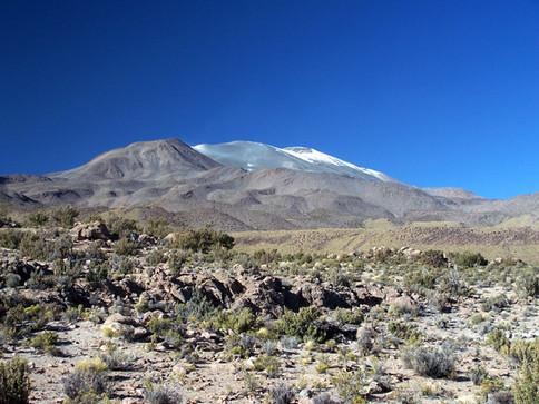 Isluga volcano