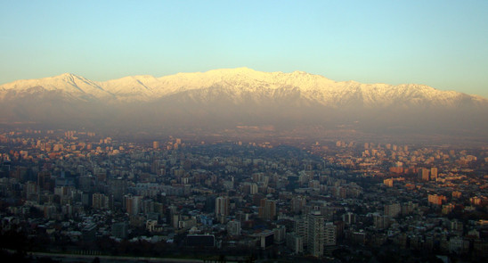 Santiago, From San Cristobal hill