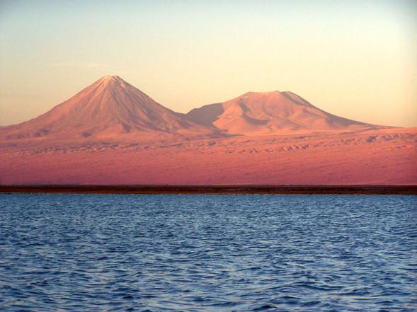 Salar Atacama, Licancabur
