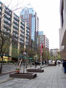 Santiago, near Tobalaba station
