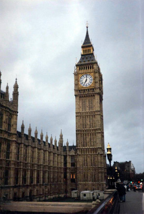 London Clock Tower Houses of Parliament