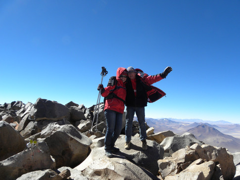 Sairecabur summit