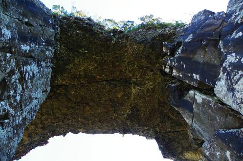 Dentro da Pedra Furada