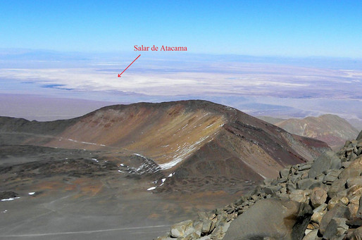 View from Sairecabur summit
