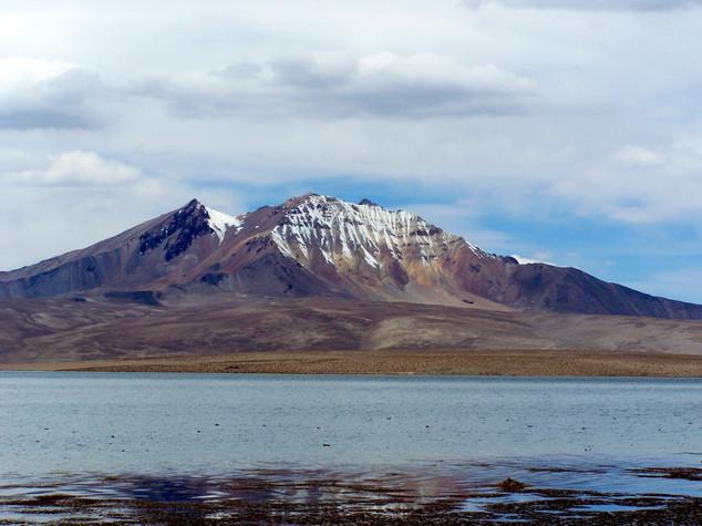 Chungara lake and Quisiquisini
